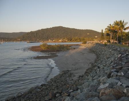 airlie: Coast of Airlie Beach in Queensland, Australia Stock Photo