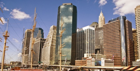 Buildings of New York City, United States Stock Photo - 8666142