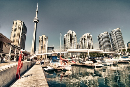 View of Toronto from the Pier, Canada