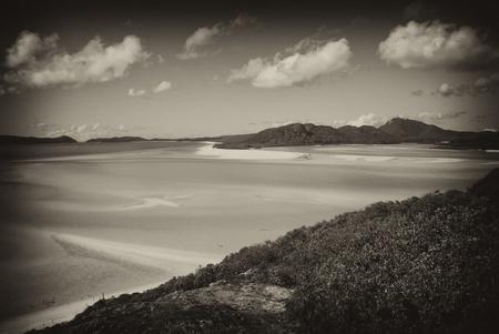 Whitehaven Beach in the Whitsundays Archipelago, Queensland, Australia Stock Photo - 8897923