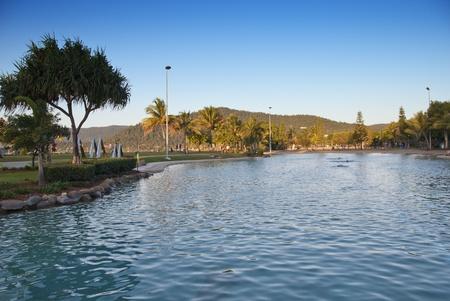 Airlie Beach Coast in Queensland, Australia photo