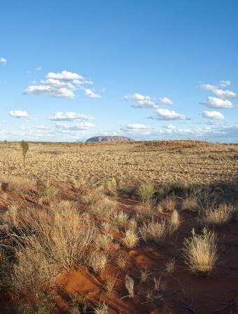 オーストラリアのアウトバック、オーストラリアのノーザン テリトリー冬のシーズン中の色