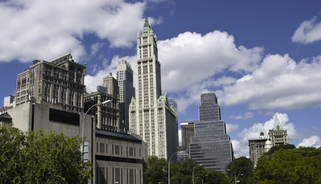 Panoramic View of New York City Buildings, U.S.A. Stock Photo - 9355538