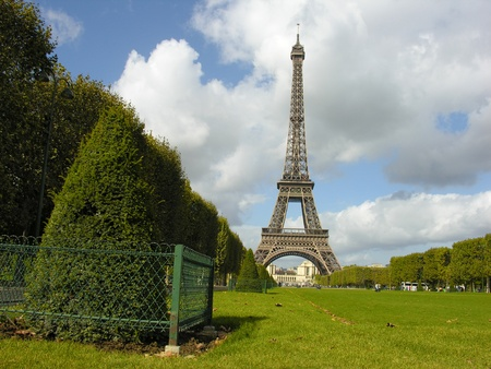 View of Eiffel Tower in Paris, France Stock Photo - 9607802