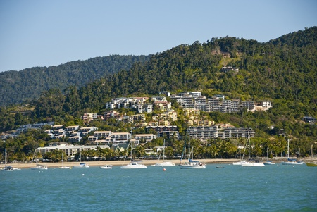 airlie: Airlie Beach Coast in Queensland, Australia