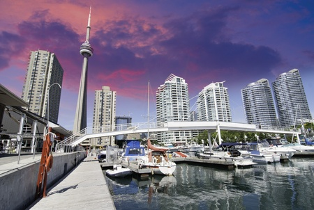 Downtown View of Toronto from the Pier, Canada