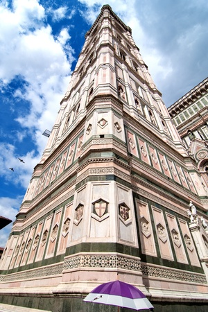 Architectural Detail of Piazza del Duomo in Florence, Italy Stock Photo - 9607835