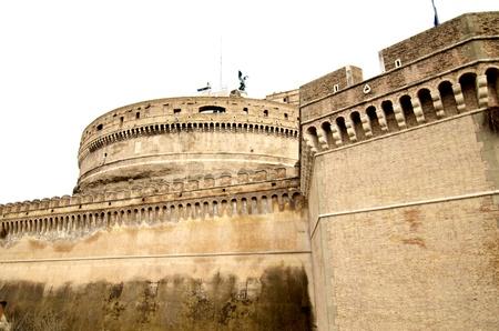 Castel Sant'Angelo in Rome, Italy Stock Photo - 9607877