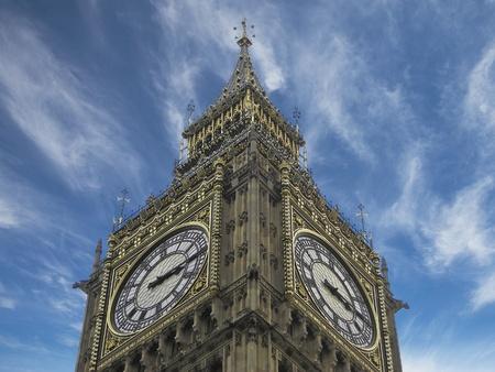 Big Ben Dramatic View, London Stock Photo - 9729079