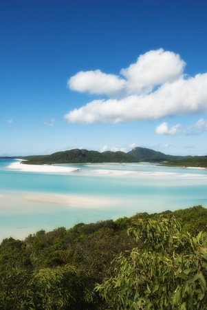 Whitehaven Beach in the Whitsundays Archipelago, Queensland, Australia Stock Photo - 9729135