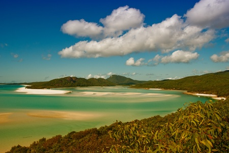 Whitehaven Beach in the Whitsundays Archipelago, Queensland, Australia Stock Photo - 9844631