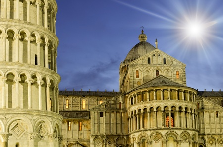 Cathedral of Pisa in Piazza dei Miracoli, Italy photo