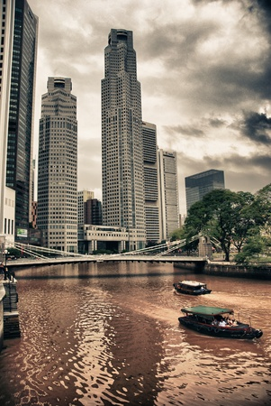 Buildings and Skyscrapers of Singapore photo