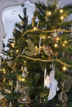 toygift: Christmas Tree with Decorations, Italy