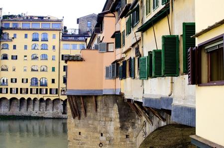 Architectural Detail near Ponte Vecchio, Florence, Italy Stock Photo - 10499659