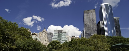 Panoramic View of New York City Buildings, U.S.A. Stock Photo - 10499649