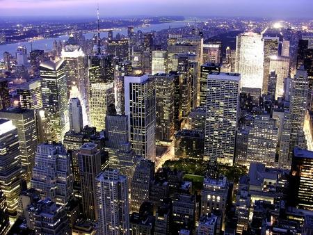 Skyscrapers of New York City, U.S.A. Stock Photo - 11025717