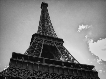 Detail of Eiffel Tower in Paris, France Stock Photo - 11025725