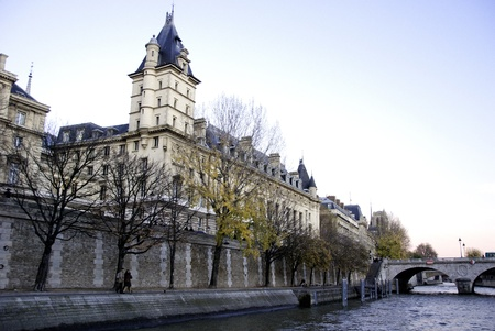 Paris architecture and RIver, France Stock Photo - 11109182