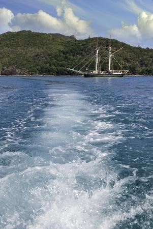 Ship in the Whitsunday Islands, Australia Stock Photo - 11276811