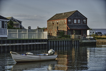 Coast of Nantucket in Massachusetts, U.S.A.
