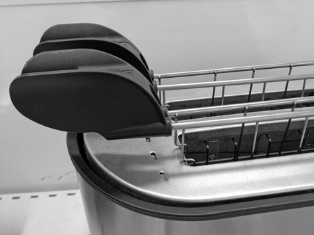 Detail of a Toaster, Italy photo