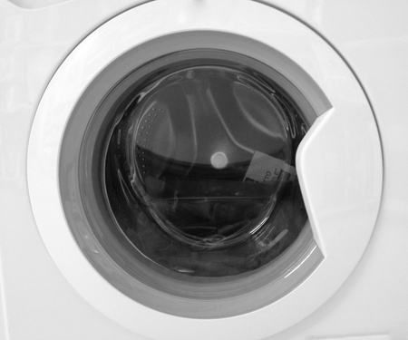 Detail of a Washing Machine, Italy Stock Photo - 11282096