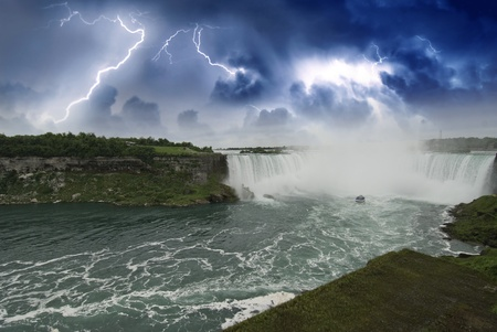 Nature of Niagara Falls, Canadian Side Stock Photo - 11556951