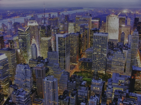 Architecture of New York City, U S A  photo