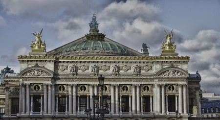 Architecture of Paris in France