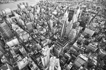 New York City v noci z Empire State Building Reklamní fotografie