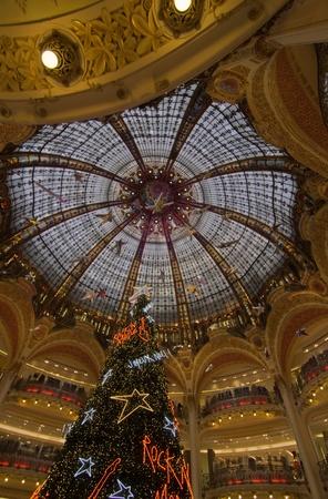 Mall Interior in Paris, France