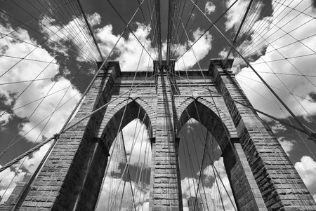 Brooklyn Bridge Architecture, New York City photo