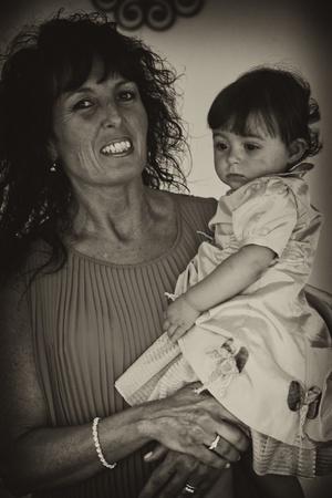 Aunt and Nephew, Italy photo