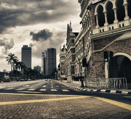 lumpur: Detail of Kuala Lumpur in Malaysia Editorial