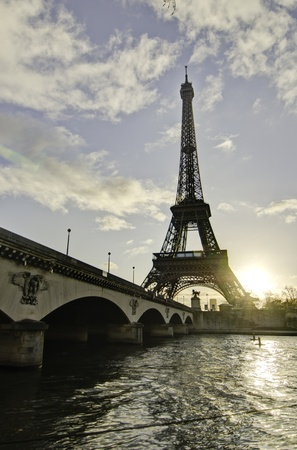 Colors of Paris in December, France photo