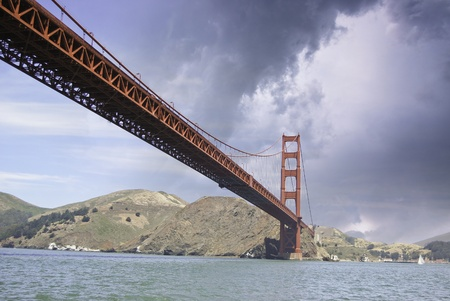Golden Gate Bridge in San Francisco, U.S.A. photo