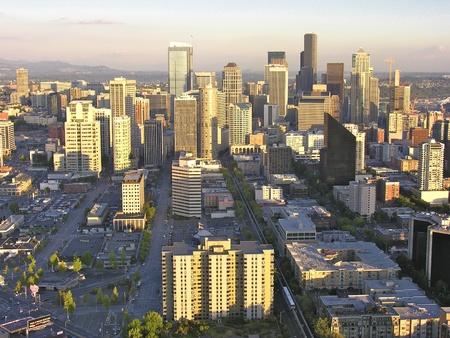 Architectural Detail of Seattle, Washington photo