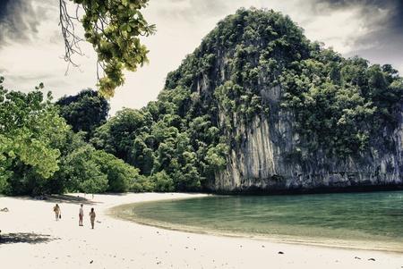 Colors of Sky and Vegetation in a Thai Island near Krabi Stock Photo - 12334052