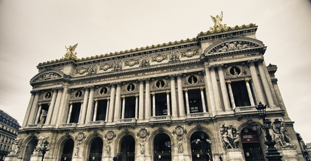 Opera Facade in Paris, France photo