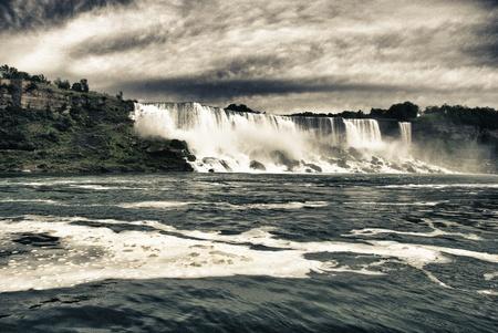Waterfalls at Niagara, Ontario photo