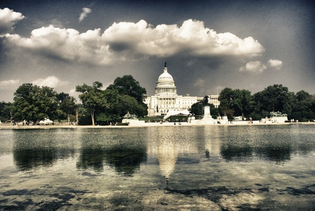 state election: The Capitol in Washington, DC