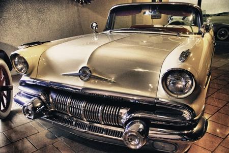 Altes Auto in einem Museum, USA Editorial