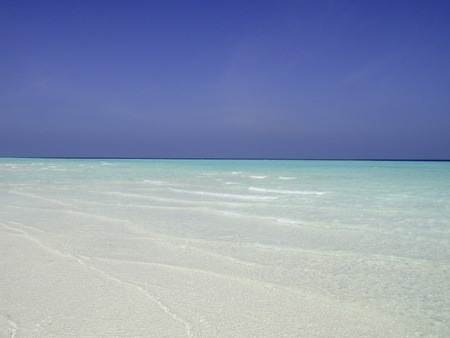 Beaches and Colors of Maldives Islands photo