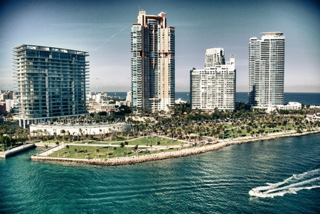 View of Miami, Florida photo