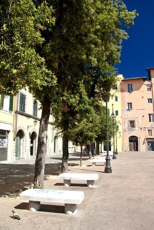 Architecture of Piazza della Pera, Pisa photo