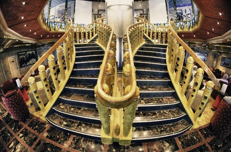 Cruise Ship Interior Design, Caribbean