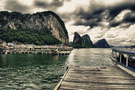Koh Panyee Island in Thailand