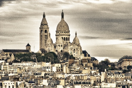 Architecture and Landmarks of Paris, France photo