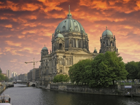 Sky Colors over Berliner Dom, Germany